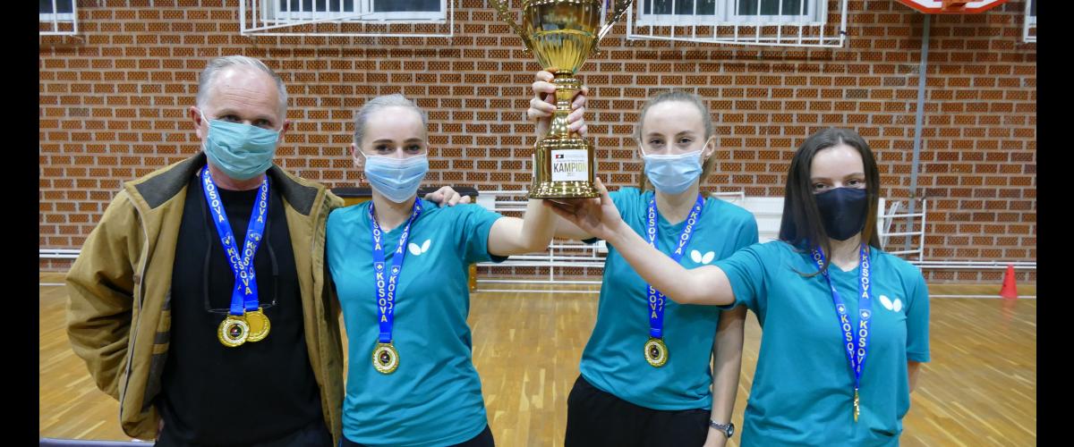 KPP Drita (femrat) shpallen Kampion te Kupes se Kosoves per vitin 2020.
