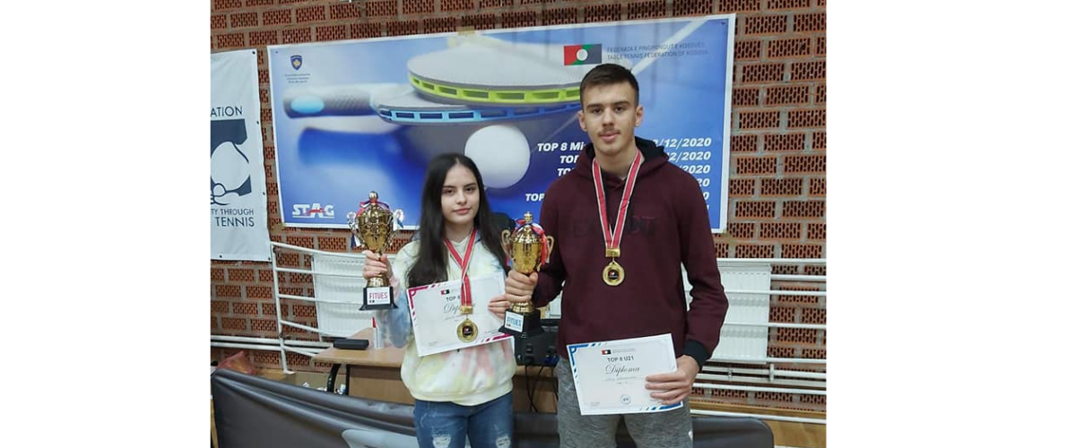 Fatih Karabaxhaku dhe Shega Hashani kampion ne kampionatin TOP 8 - U21