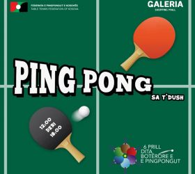 Ftesë për pjesëmarrje në Ditën Botërore të Pingpongut