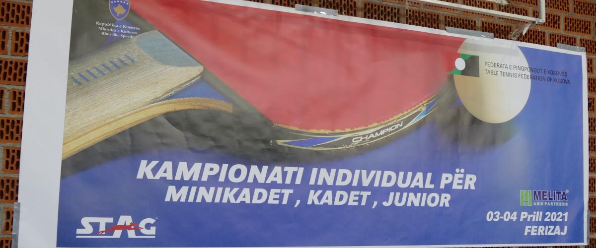 Mbahet Kampionati Individual i Kosovës për Minikadet/e dhe Kadet/e