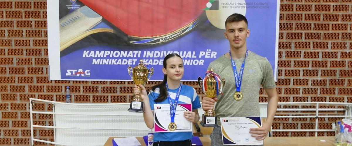 Fati Karabaxhaku dhe Shega Hashani kampion në Kampionatin e Juniorëve për vitin 2021