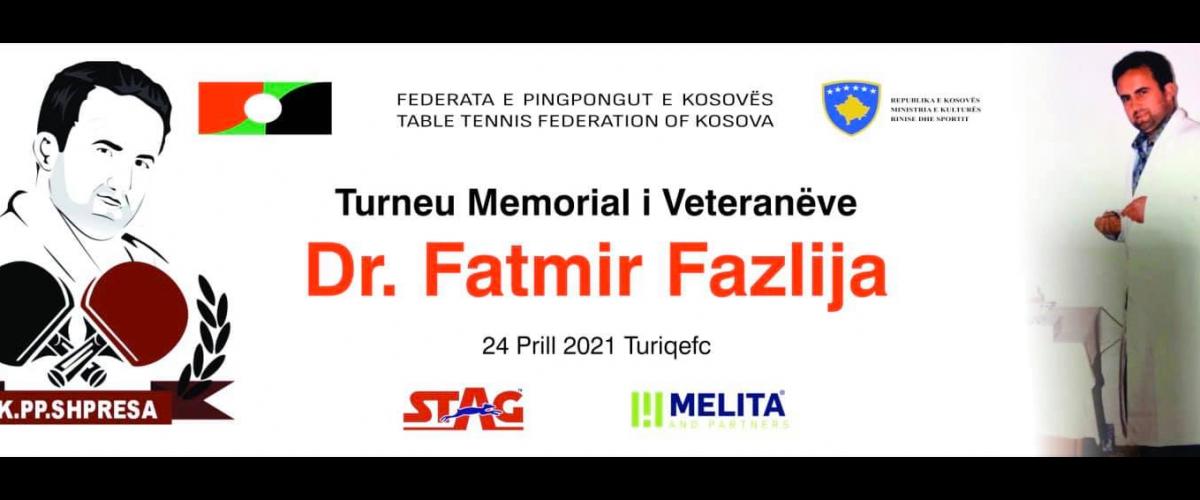 Organizohet Turneu Memorial i veteranëve Dr.Fatmir Fazlija
